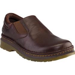 Men's Dr. Martens Robson Orson Plain Toe Slip On Shoe Dark Brown Overdrive