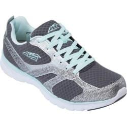 Women's Avia Avi-Cube Steel Grey/Chrome Silver/Sea Green