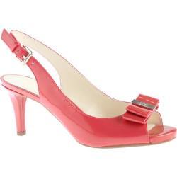 Women's Anne Klein Stephania Slingback Med Pink/Med Pink Patent