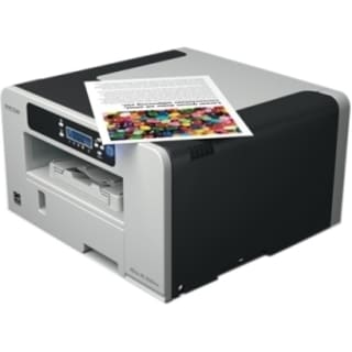 Ricoh Aficio SG 3110DNW GelSprinter Printer - Color - 3600 x 1200 dpi (As Is Item)