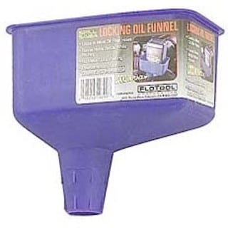 Flo Tool 10709 Plastic Locking Funnel