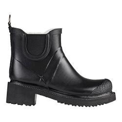 Women's Ilse Jacobsen Short Rubber Boot Black
