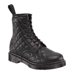 Women's Dr. Martens Coralie Quilted 8-Eye Boot Black Danio
