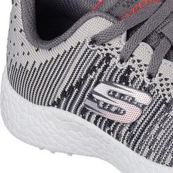 Boys' Skechers Burst In the Mix Sneaker Gray/Charcoal 18878607