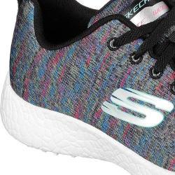 Women's Skechers Burst New Influence Athletic Shoe Black/Multi