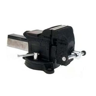 "Adjustable Clamp 30404 4"" Heavy-Duty Steel Bench Vise"