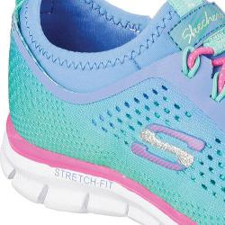 Girls' Skechers Glider Fearless Blue/Mint