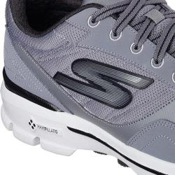 Men's Skechers GOwalk 3 Creator Walking Shoe Charcoal/Black 18882055