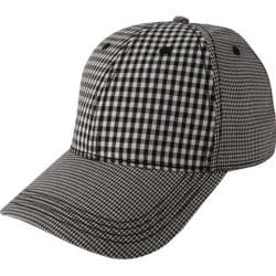 Men's Ben Sherman Multi Check Baseball Cap Jet Black