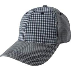 Men's Ben Sherman Multi Check Baseball Cap Navy Blazer
