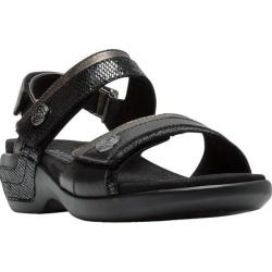 Women's Aravon Katherine Adjustable Strap Sandal Black Multi
