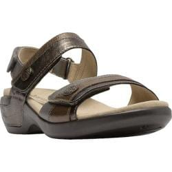 Women's Aravon Katherine Adjustable Strap Sandal Metallic Multi
