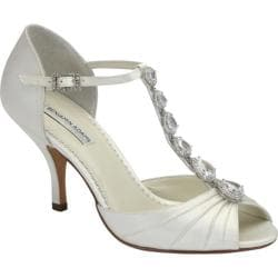 Women's Benjamin Adams London Mia Ivory Duchesse Silk
