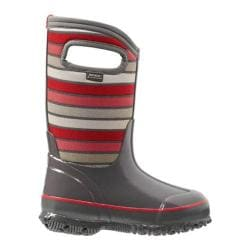 Children's Bogs Classic Stripes Boot Gray Multi