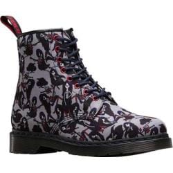 Dr. Martens Adventure Time Castel 8 Eye Boot Grey Marceline T Canvas