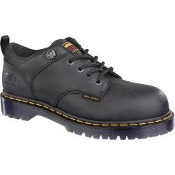 Dr. Martens Ashridge ST 5 Tie Shoe Black Industrial Greasy