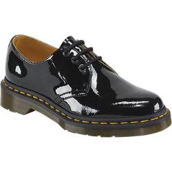 Women's Dr. Martens 1461 3 Eye Shoe Black Patent Lamper