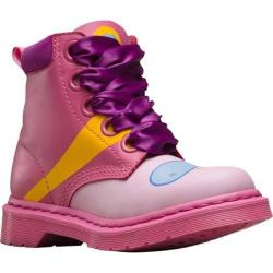 Women's Dr. Martens Bonnibel 5 Eye Hiker Princess Bubblegum Boot Winter Pink/Candy Pink Princess Bubblegum Softy T