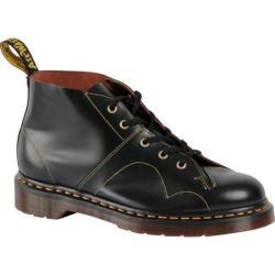 Dr. Martens Church Monkey Boot Black Vintage Smooth