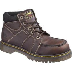Dr. Martens Darby ST 5 Eye Moc Toe Boot Teak Industrial Bear