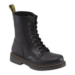 Dr. Martens Drench 8-Eye Boot Matt Black Vulcanised Rubber