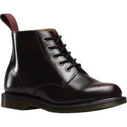 Women's Dr. Martens Emmeline 5 Eye Boot Cherry Red Arcadia