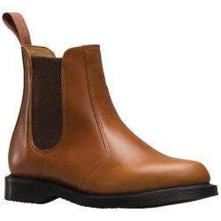 Women's Dr. Martens Flora Chelsea Boot Oak Analine