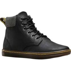 Women's Dr. Martens Maelly Padded Collar Boot Black Greasy Lamper