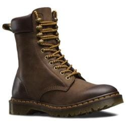 Dr. Martens Padten 10 Tie Padded Boot Dark Brown