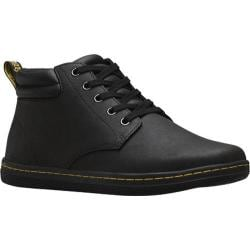 Men's Dr. Martens Maleke Padded Collar Boot Black Lamper