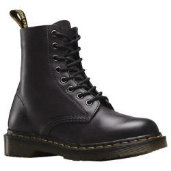 Dr. Martens Pascal 8-Eye Boot Charcoal Antique Temperley