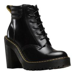 Women's Dr. Martens Persephone 6 Eye Padded Collar Boot Black Buttero