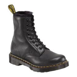 Women's Dr. Martens Serena 8 Eye Boot Black Cartegena