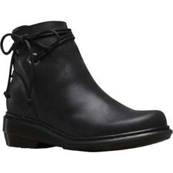 Women's Dr. Martens Shelby Hi Tie Boot Black Oily Illusion Leather