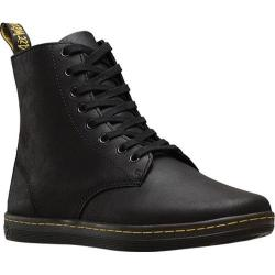 Men's Dr. Martens Tobias 8 Eye Boot Black Greasy Lamper