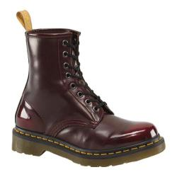 Dr. Martens Vegan 1460 8-Eye Boot Cherry Red Cambridge Brush