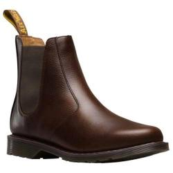 Men's Dr. Martens Victor Chelsea Boot Dark Brown New Nova Leather