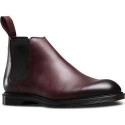 Men's Dr. Martens Wilde Low Chelsea Boot Cherry Red Antique Temperley