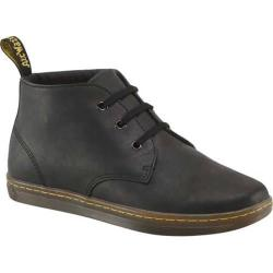 Men's Dr. Martens Will 3 Eye Desert Boot Black Greasy Lamper