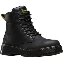 Men's Dr. Martens Winch 7 Eye Boot Black Wyoming Leather
