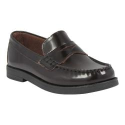 Boys' Florsheim Croquet Penny Jr. Burgundy Smooth Leather