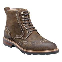 Men's Florsheim Kilbourn Wing Tip Boot Stone Leather