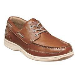 Men's Florsheim Lakeside Ox Boat Shoe Saddle Tan Milled Leather