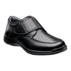 Men's Florsheim Pacer Strap Black Tumbled Leather
