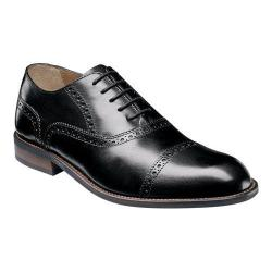 Men's Florsheim Pascal Cap Toe Oxford Black Leather