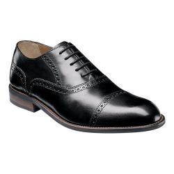 Men's Florsheim Pascal Cap Toe Oxford Black Leather