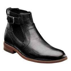Men's Florsheim Rockit Buckle Boot Black Leather