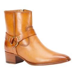 Women's Frye Dara Harness Short Boot Tan Leather
