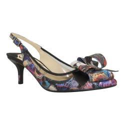 Women's J. Renee Garbi Black Multi Enchanted Butterfly Fabric