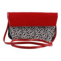 Women's J. Renee SH023 Shoulder Bag Black/White